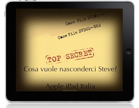 i segreti di iPad coperti dal segreto