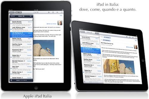 Prezzo iPad in Italia e distribuzione