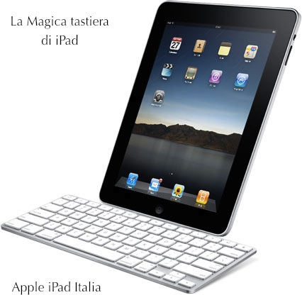 Tastiera per iPad Keyboard Dock