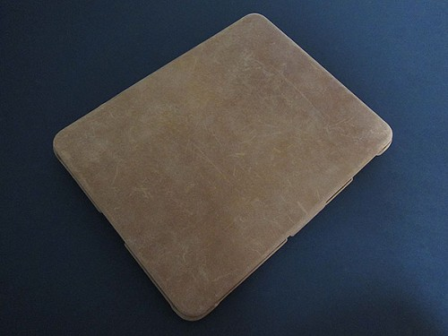 iPad avvolto dalla pelle