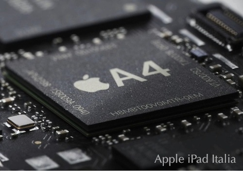Il processore di Cortex A8 di iPad A4