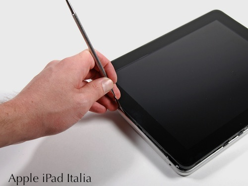 iPad smontato disassemblato per Apple iPad Italia