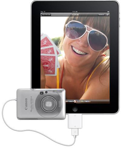 accessori apple ipad connettore fotocamera digitale
