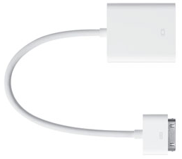 accessori apple ipad kit connessione dock vga