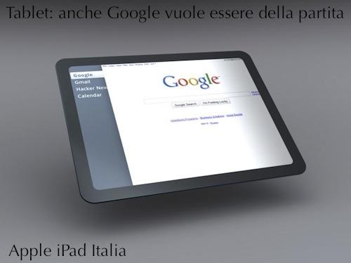 Tablet di Google iPad
