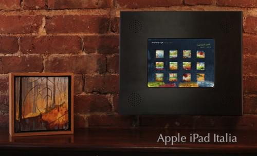 Una cornice per iPad