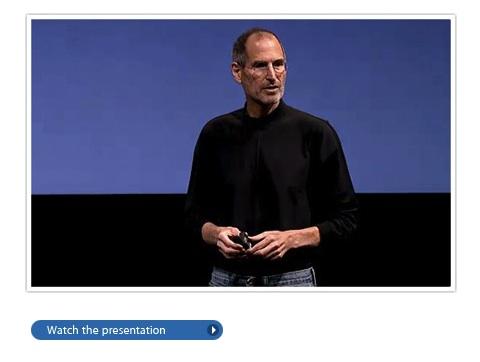 iPhone OS 4.0 per iPad guarda il video keynote per iPad