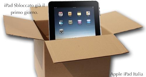 Apple iPad Italia sblocco iPad unlock e jailbreak video