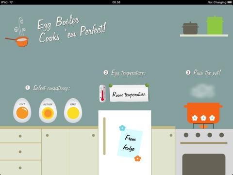 Cucinare un uovo con iPad