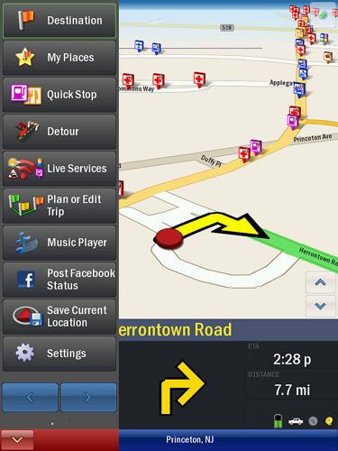 Navigatore satellitare per iPad 3G