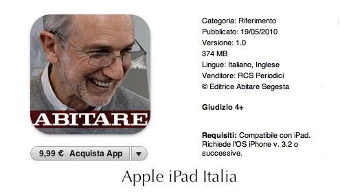 Renzo Piano su Apple iPad