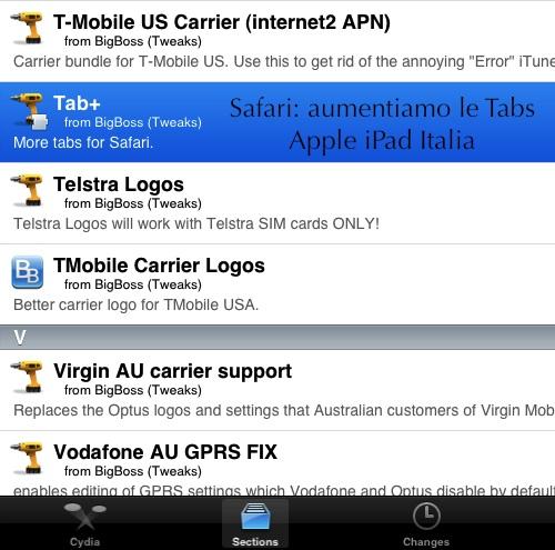 Cydia Tab+