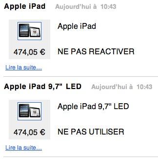 iPad in offerta a 474 Euro