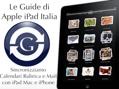 Google Sync e iPad - parte 3
