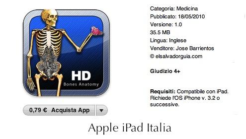 App per iPad