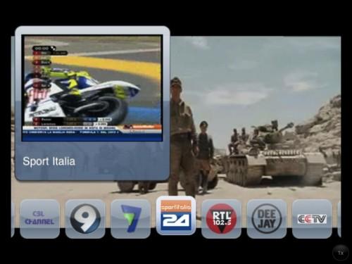 La TV gratis su iPad