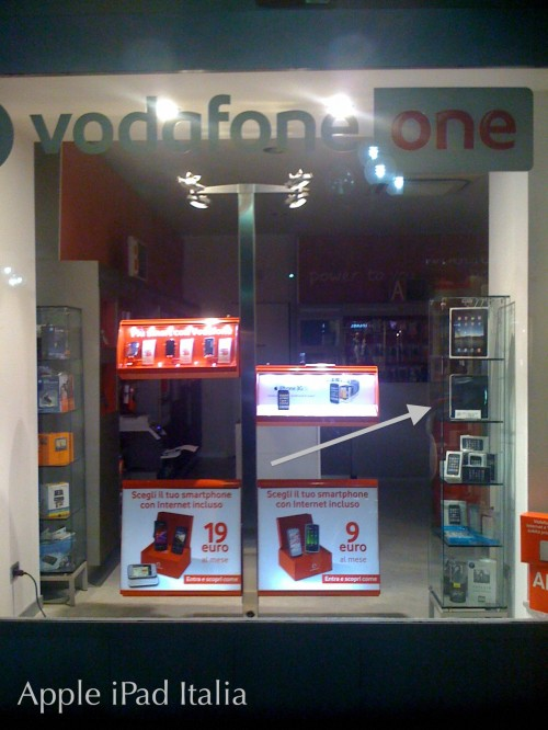 Vodafone One vende iPad