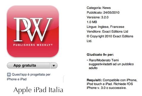 Rivista per iPad