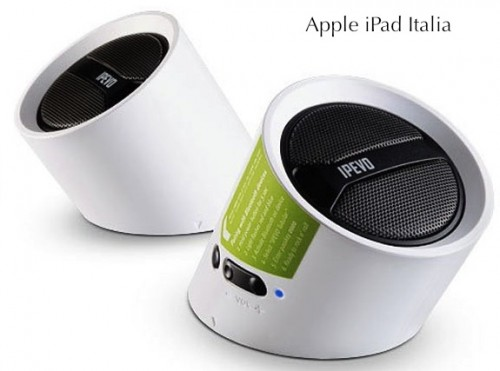 Speakers per iPad
