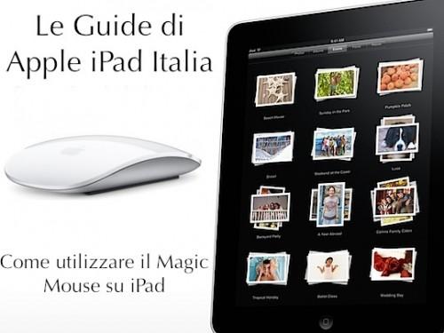Guida: Usare il mouse con iPad