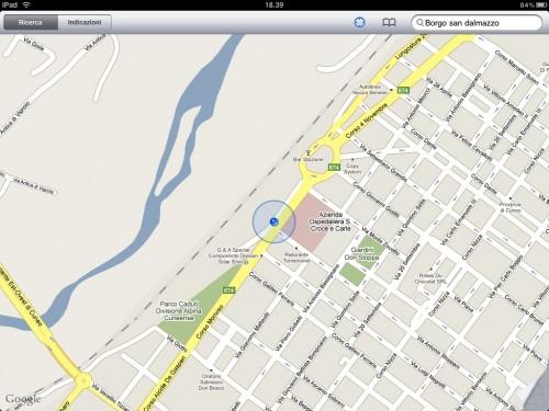 MyWi permette di geolocalizzare su iPad