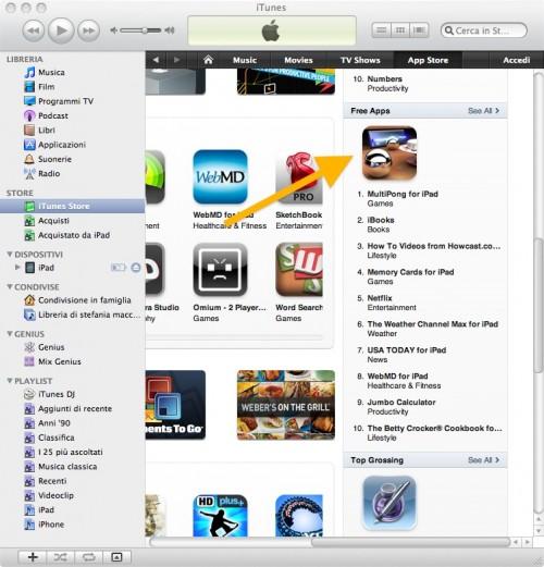 Guida per creare un account per iPad USA