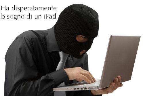 Come proteggersi dai furti di iPad