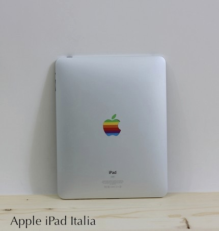 Logo Apple colorato