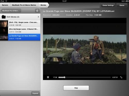 vedere i film in streaming su iPad