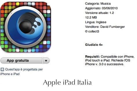Sequencier gratuito per iPad