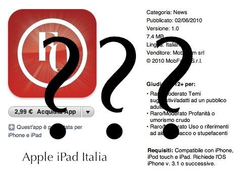 Il fatto quotidiano è scomparso da App Store