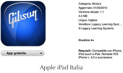 Accordatore e metronomo gratuito per iPad