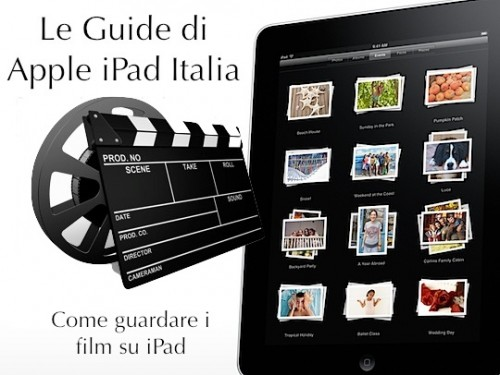 Come guardare i film su iPad