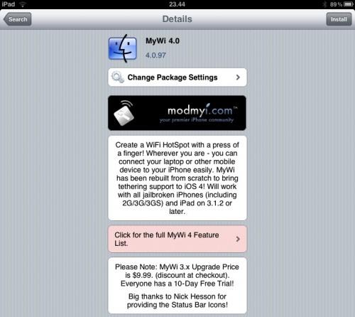 MyWi ora è compatibile con iOS4