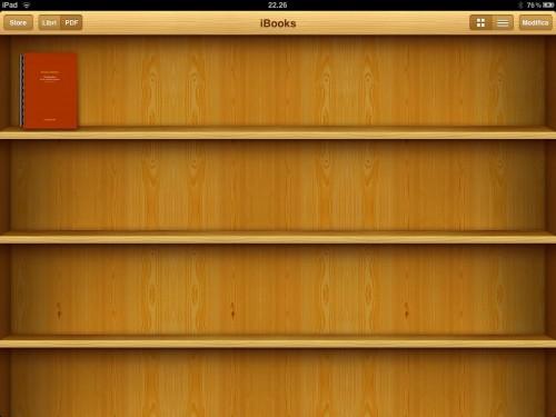 Come importare i PDF da iTunes su iBooks