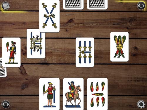 Giochi di carte: Scopa per iPad