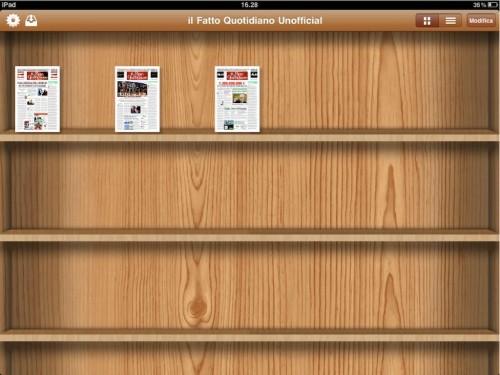 Test della App non ufficiale del fatto quotidiano