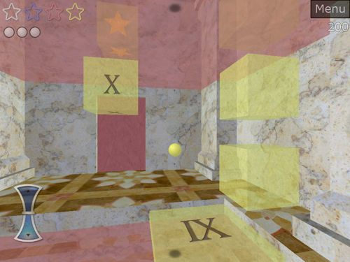 Shatterquest guidate una pallina in un'ambientazione 3D