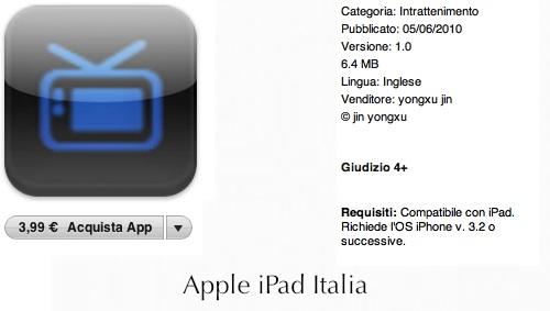 guardare i divx con iPad