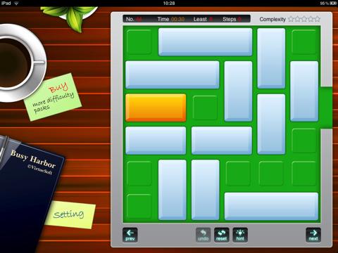 Simpatico puzzle game per ipad