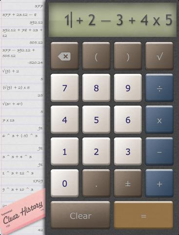 una bella calcolatrice per iPad