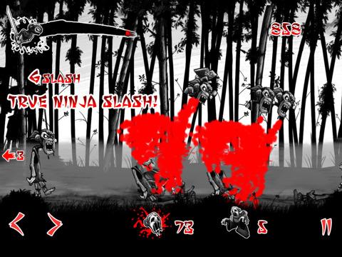 ninja contro zombie su ipad