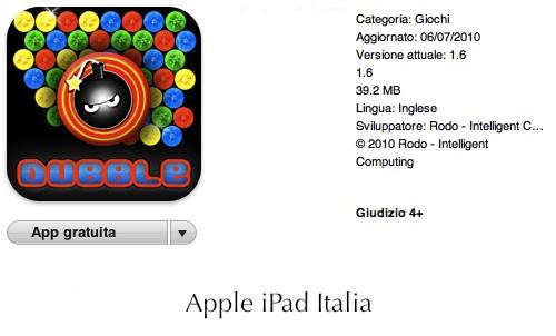 puzzle bubble per ipad