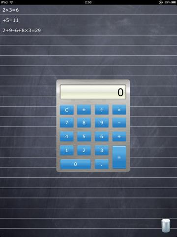 Piccola calcolatrice che visualizza i vostri i conti