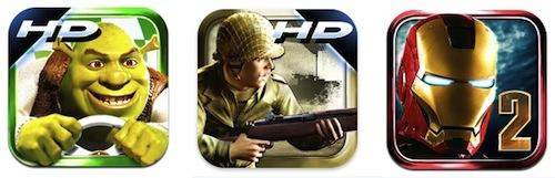 Applicazioni Gameloft scontate