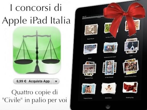 Codice civile in regalo con Apple iPad Italia
