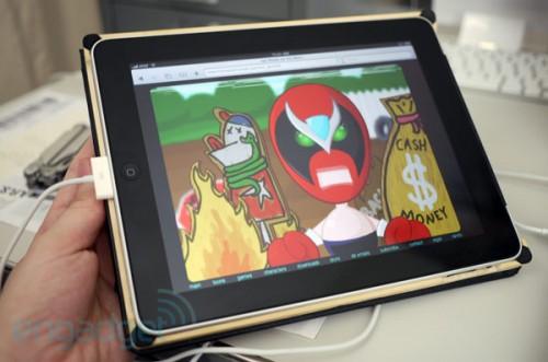 iPad ha flash con fresh