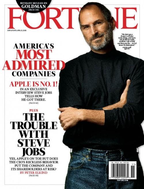 Jobs è il ceo più smart per fortune