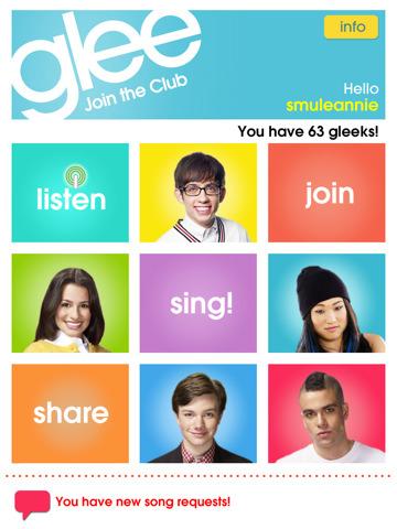 Glee Per cantare senza stonare con ipad