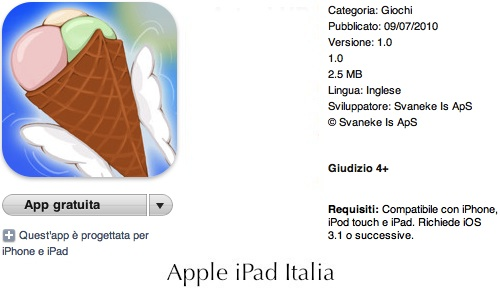 Pilotiamo un gelato volante con iPad